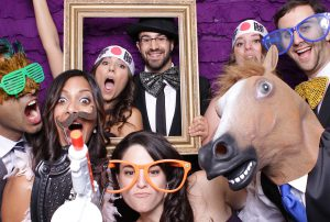 Rent a Orlando wedding photobooths